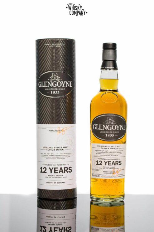 Glengoyne Aged 12 Years Highland Single Malt Scotch Whisky 700ml