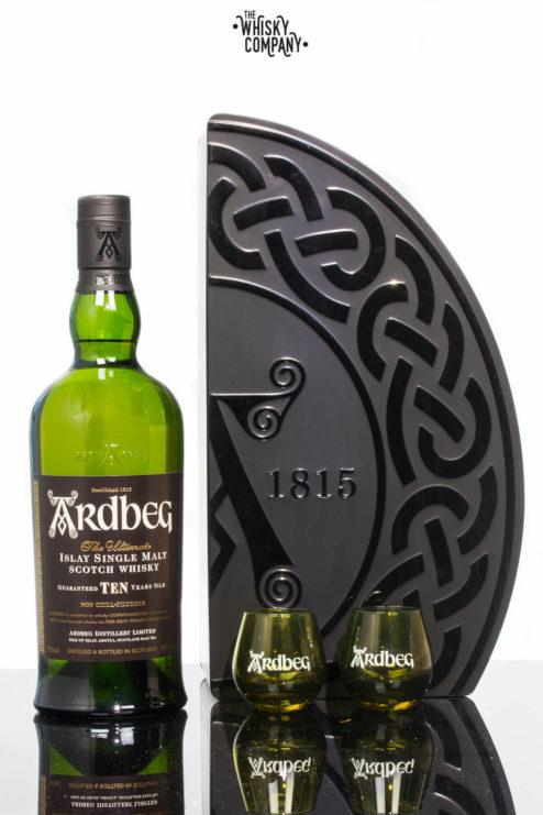 Ardbeg Ten Islay Single Malt Scotch Whisky Gift Pack