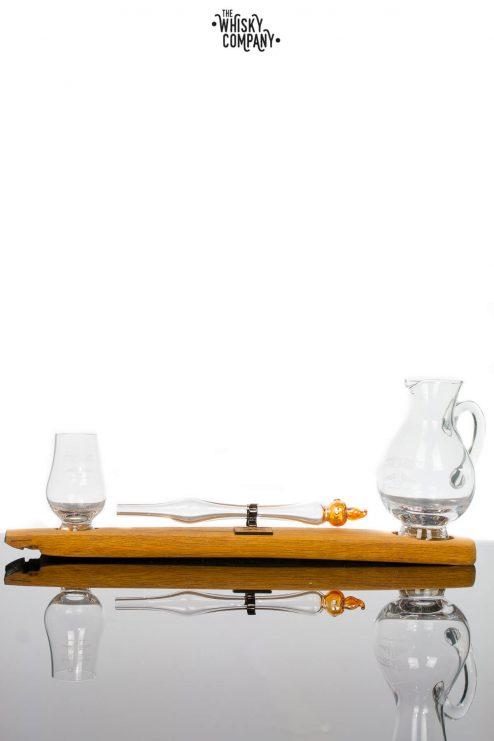 Angels' Share Whisky Dropper Set Jug with mini Glencairn Glass