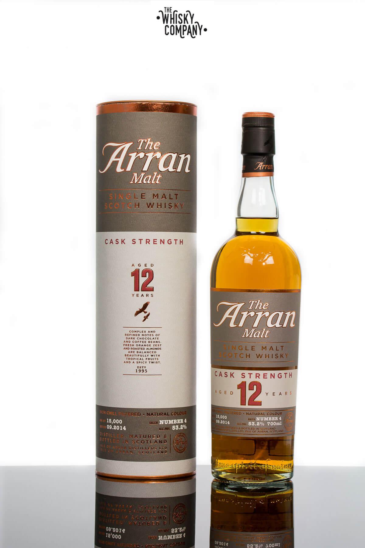 Arran Aged 12 Years Cask Strength Island Single Malt Scotch Whisky (700ml)