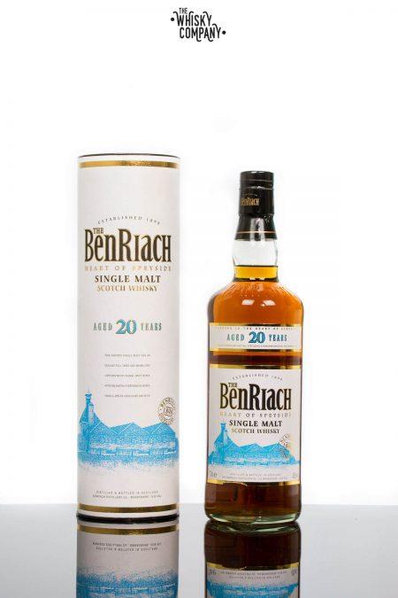 BenRiach Aged 20 Years Speyside Single Malt Scotch Whisky (700ml)