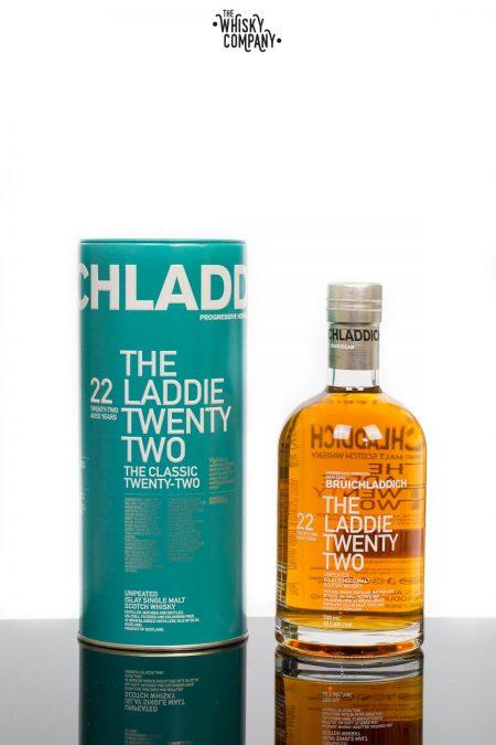 Bruichladdich 'The Classic Laddie Twenty Two' Unpeated 22 Aged Years Islay Single Malt Scotch Whisky (700ml)