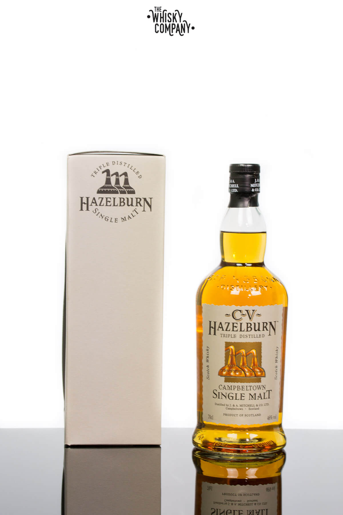 hazelburn scottish campbeltown distillery