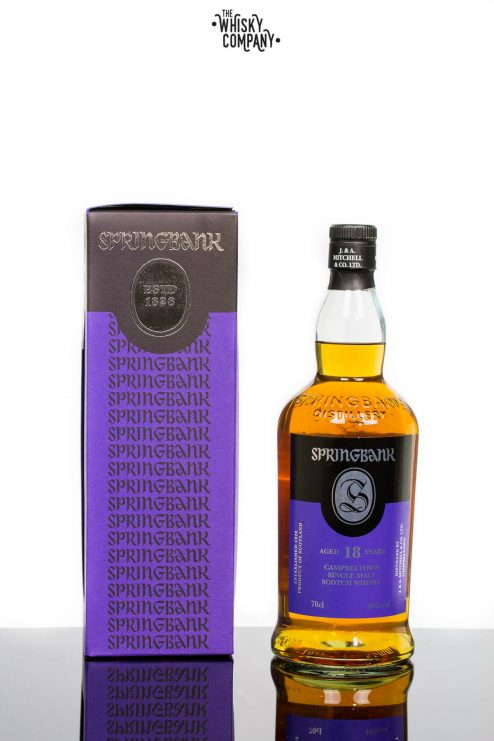Springbank 18 Years Old Campbeltown Single Malt Scotch Whisky