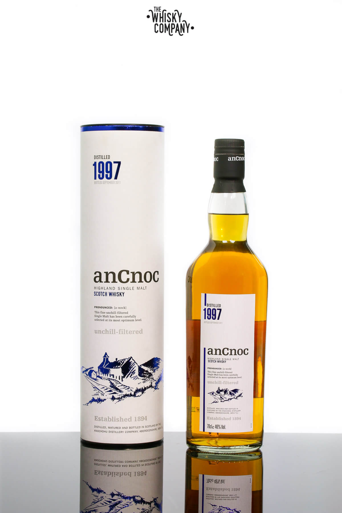 anCnoc 1997 Speyside Single Malt Scotch Whisky