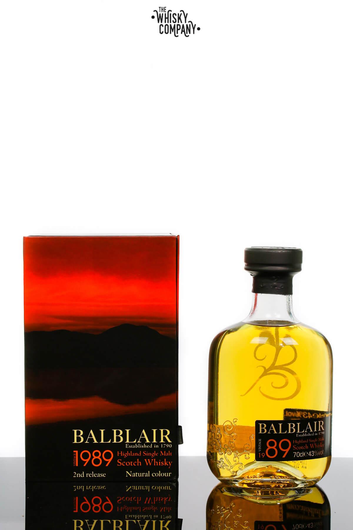 Balblair 1989 Highland Single Malt Scotch Whisky