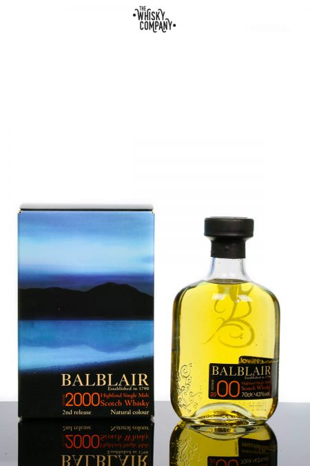 Balblair 2000 Highland Single Malt Scotch Whisky (700ml)