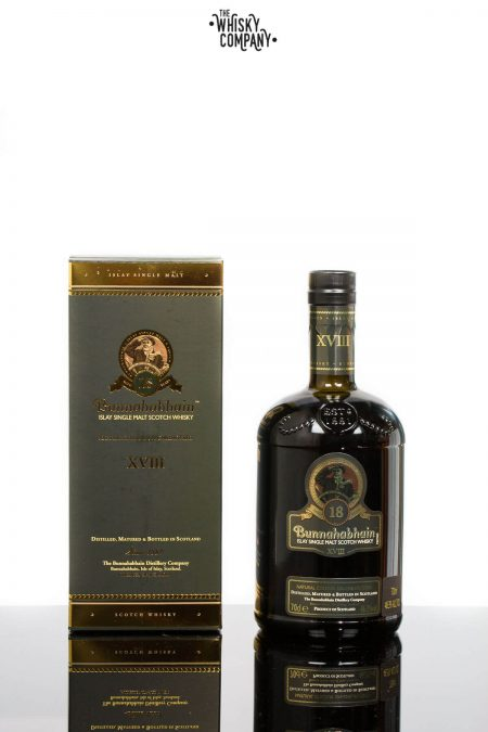 Bunnahabhain 18 Years Old Islay Single Malt Scotch Whisky (700ml)