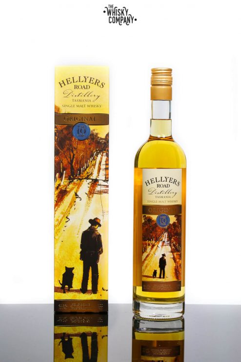 Hellyers Road 10 Years Old Australian Single Malt Whisky (700ml)