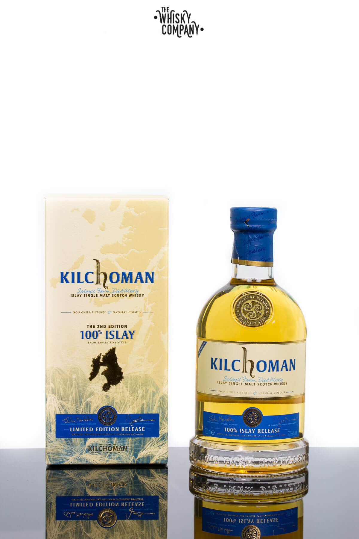 Kilchoman 100% Islay 2nd Edition Islay Single Malt Scotch Whisky
