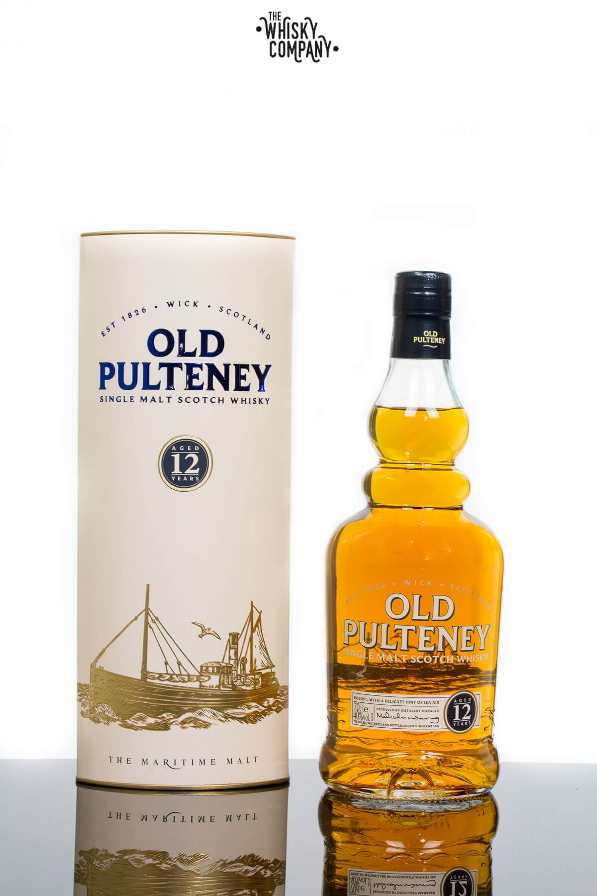 Old Pulteney Aged 12 Years Highland Single Malt Scotch Whisky