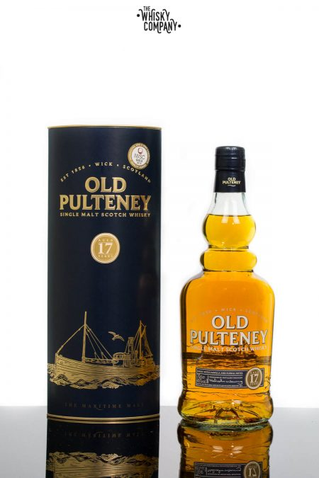 Old Pulteney Aged 17 Years Highland Single Malt Scotch Whisky (700ml)