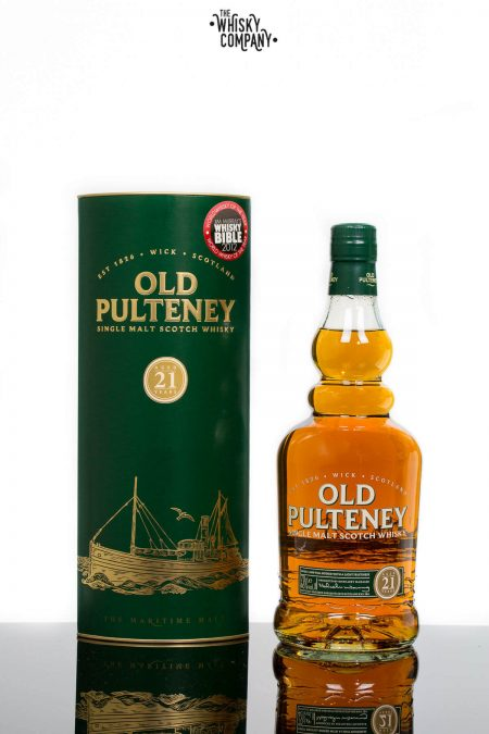 Old Pulteney Aged 21 Years Highland Single Malt Scotch Whisky