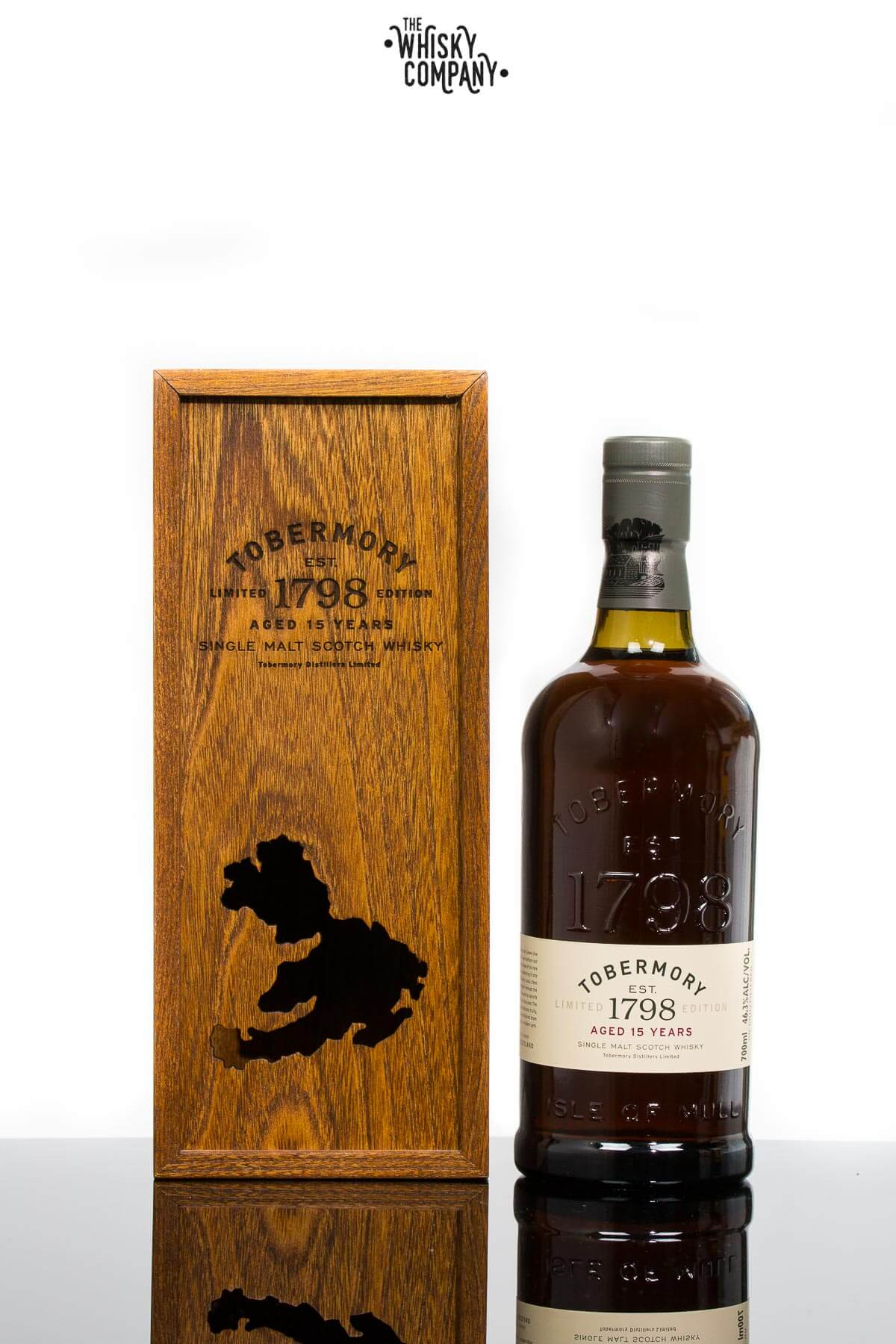 Tobermory 15 Years Old Island Single Malt Scotch Whisky