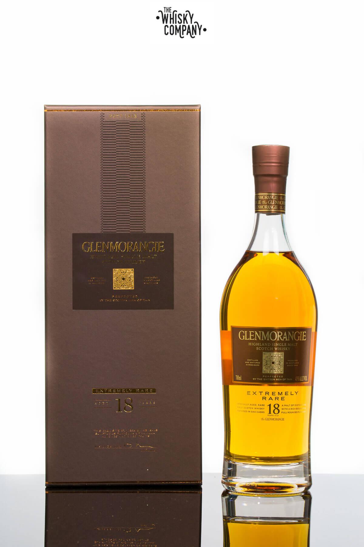 Glenmorangie 18 Year Old Extremely Rare Highland Single Malt Scotch Whisky (700ml)