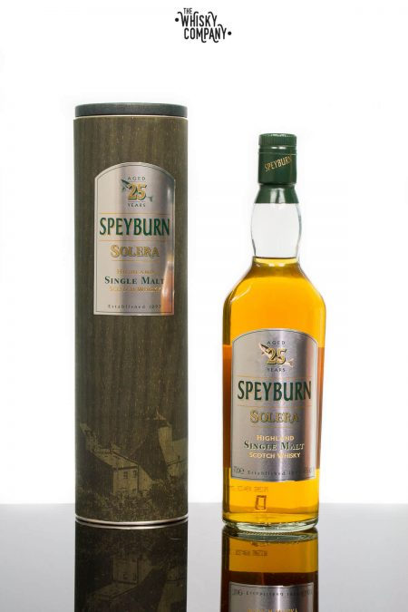 Speyburn Solera Aged 25 Years Single Malt Scotch Whisky