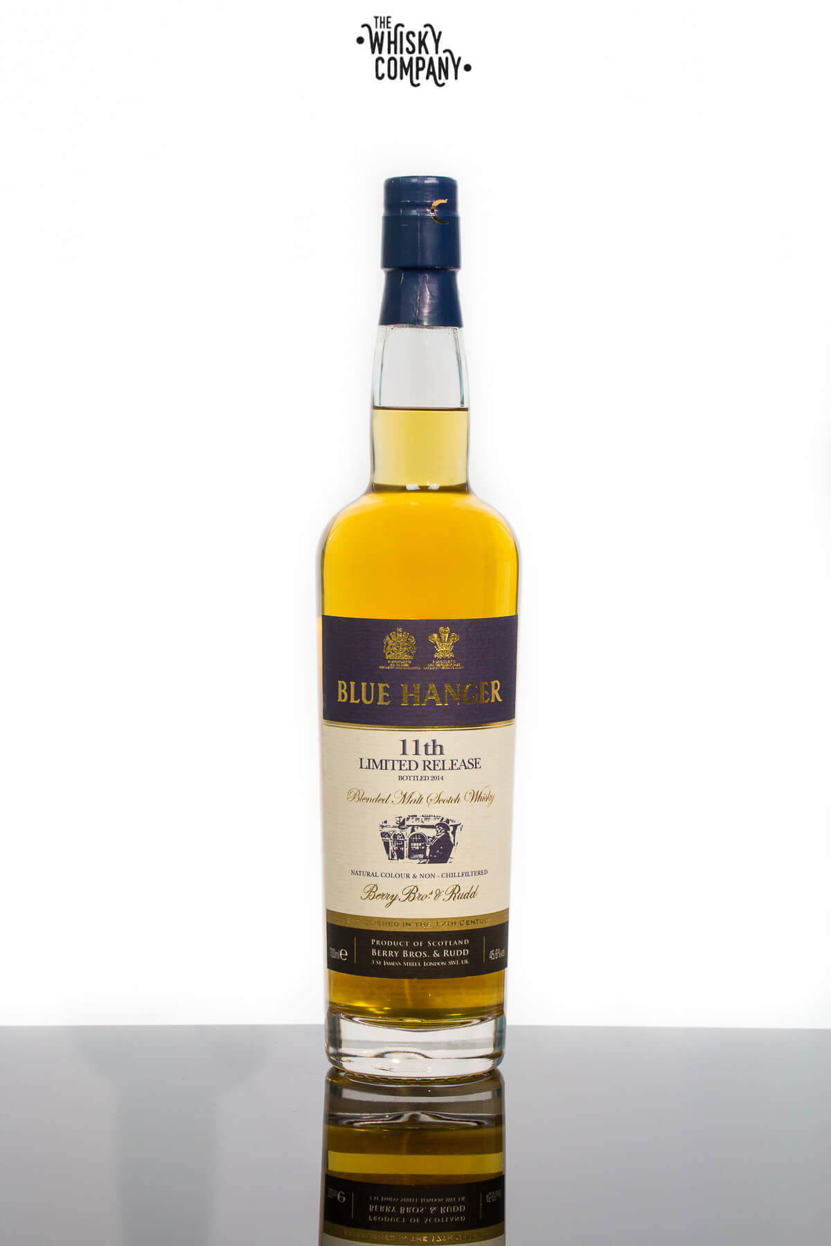 Berry Bros. & Rudd Blue Hanger 11th Release Blended Malt Scotch Whisky