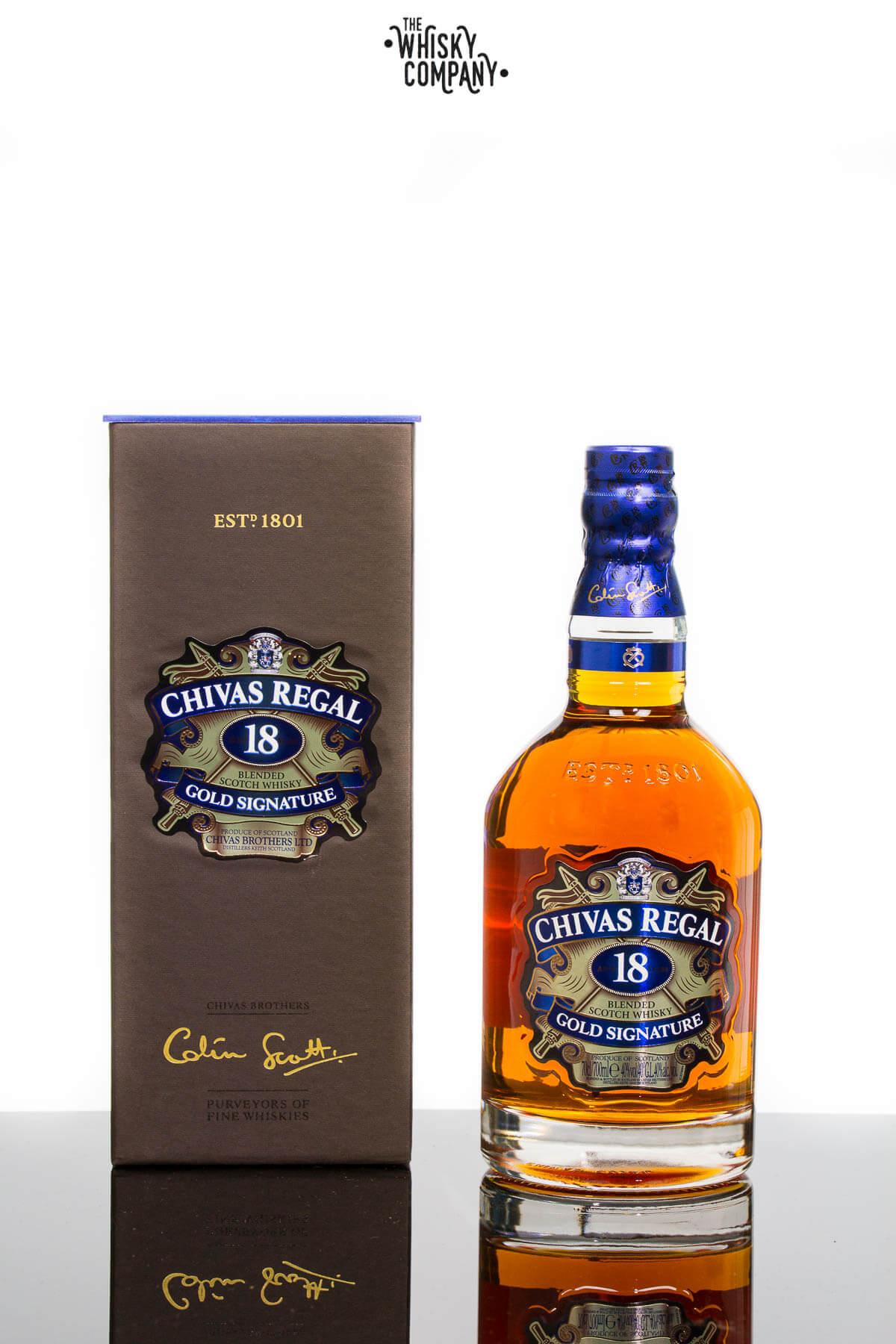 65f33b7b3 Chivas Regal Aged 18 Years Blended Scotch Whisky