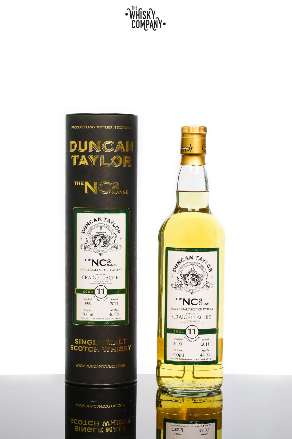 Duncan Taylor 'The NC2 Range' Craigellachie Aged 11 Years Single Malt Scotch Whisky