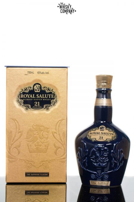 Royal Salute 21 Years Old (The Sapphire Flagon) Blended Scotch Whisky
