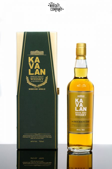Kavalan Ex Bourbon Oak Taiwanese Single Malt Whisky (700ml)