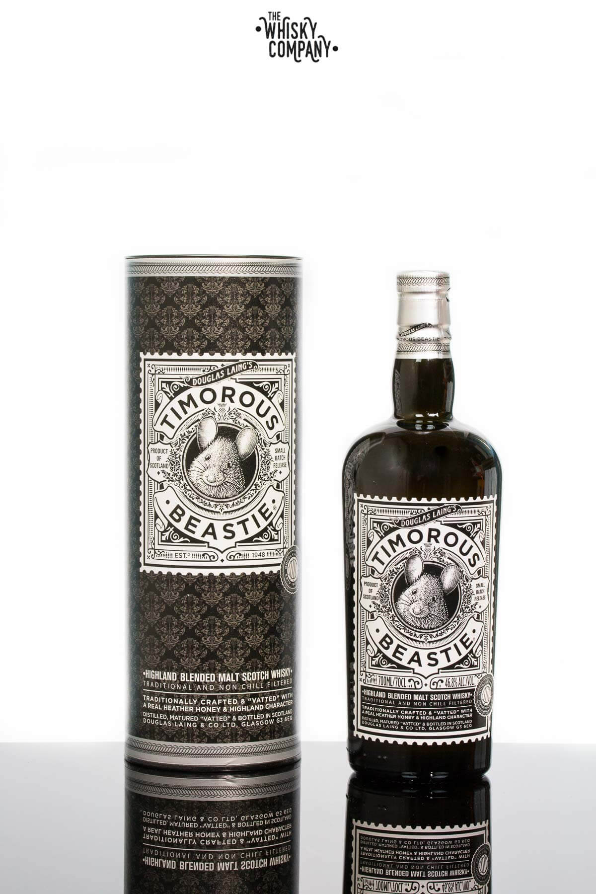 Douglas Laing's Timorous Beastie Small Batch Highland Blended Malt Scotch Whisky