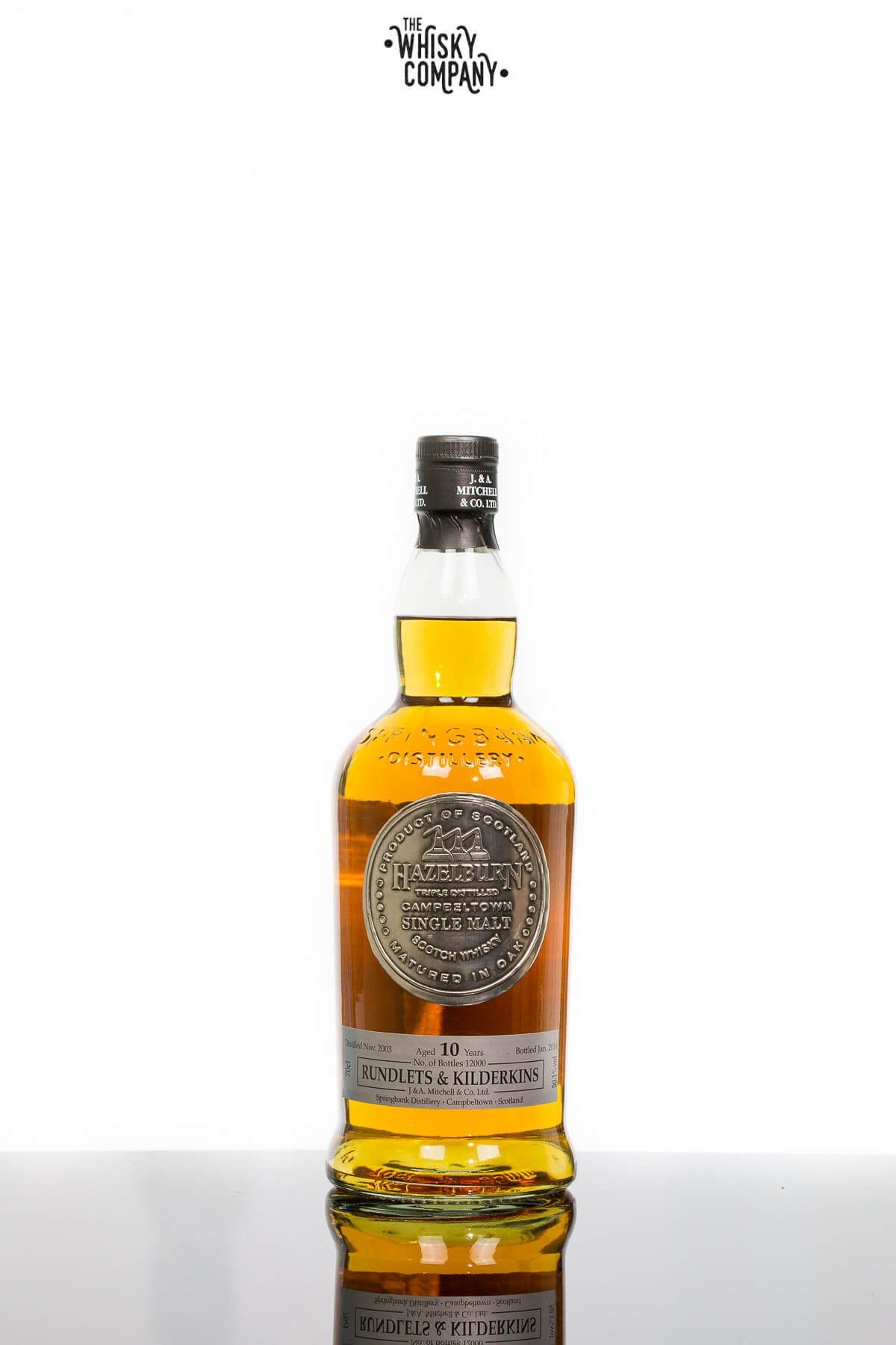 Hazelburn Aged 10 Years Rundlets & Kilderkins Campbeltown Single Malt Scotch Whisky (700ml)