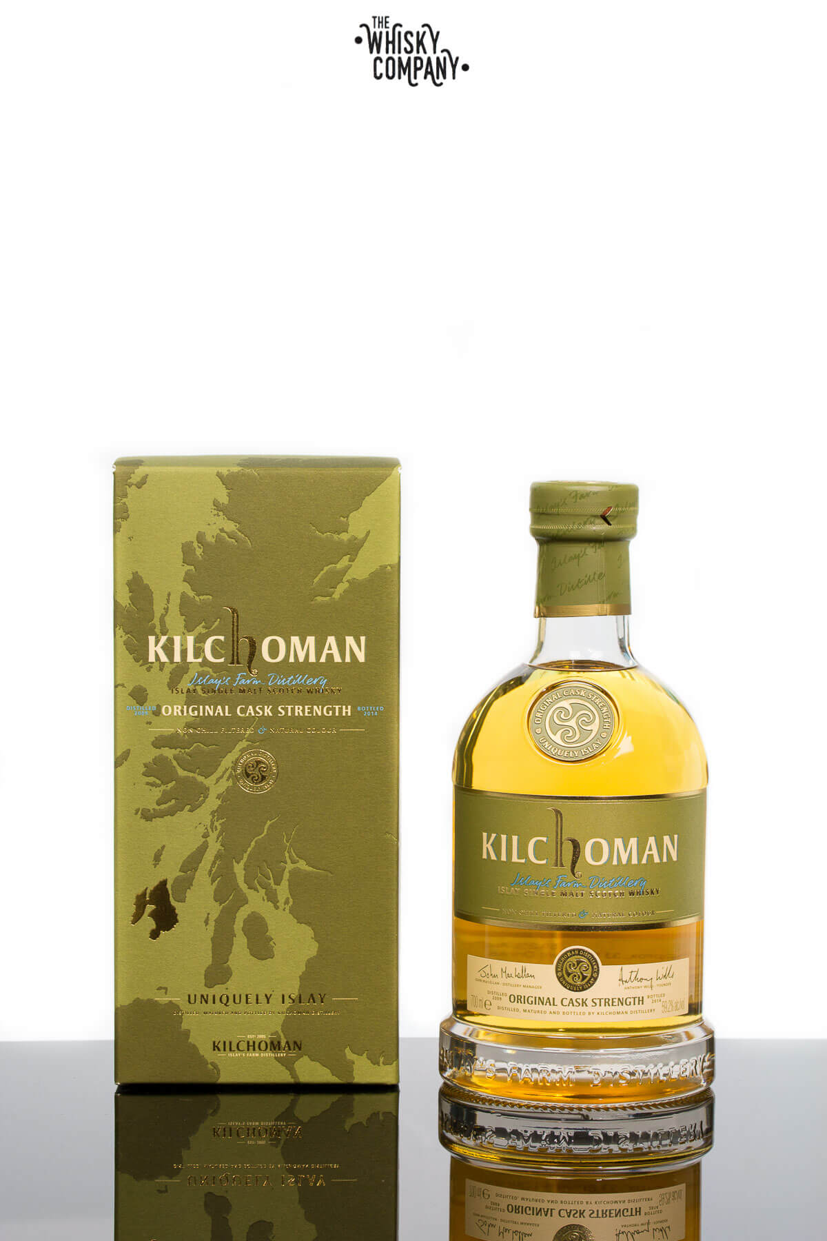 Kilchoman Original Cask Strength Islay Single Malt Scotch Whisky