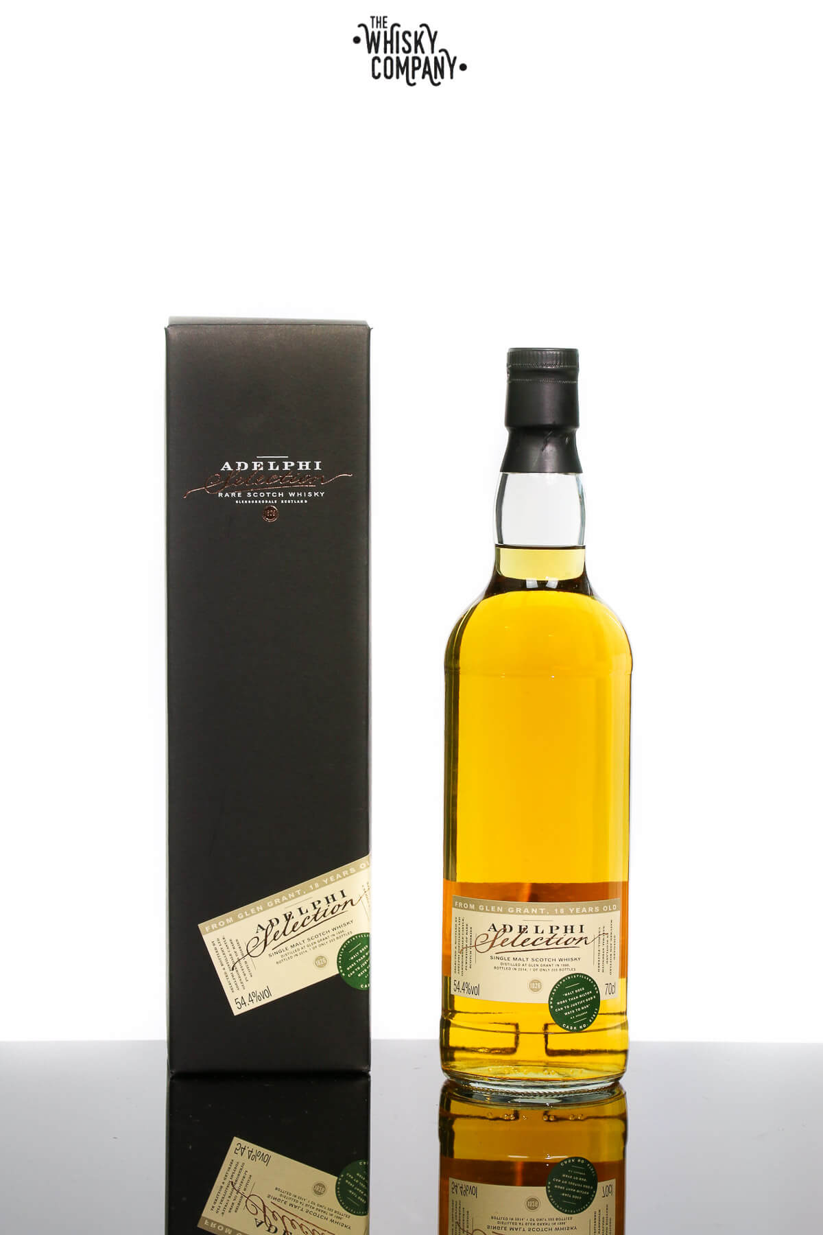 Adelphi 1996 Glen Grant 18 Years Old Single Cask Single Malt Scotch Whisky
