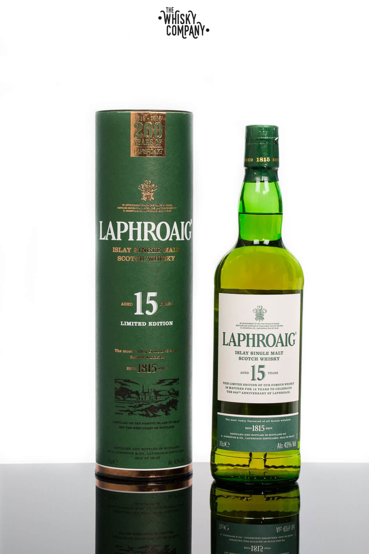 Laphroaig Aged 15 Years Limited Release Islay Single Malt Scotch Whisky