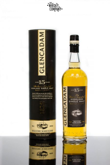 Glencadam Aged 15 Years Highland Single Malt Scotch Whisky (700ml)
