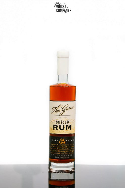 The Grove Carribean Spiced Rum Small Batch Release