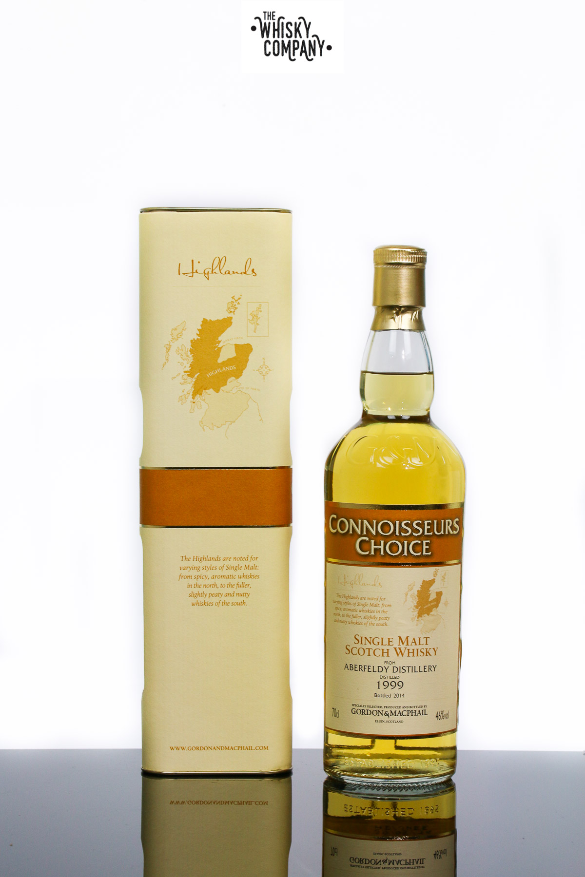 Gordon & MacPhail 1999 Aberfeldy Highland Single Malt Scotch Whisky (700ml)