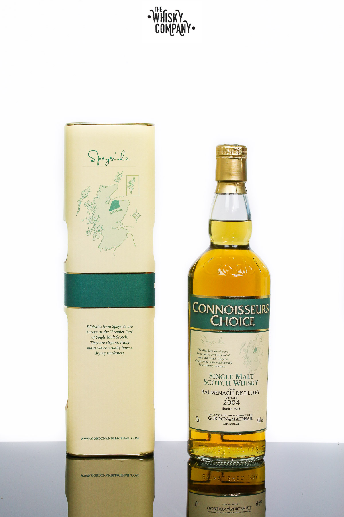 Gordon & MacPhail 2004 Balmenach Speyside Single Malt Scotch Whisky
