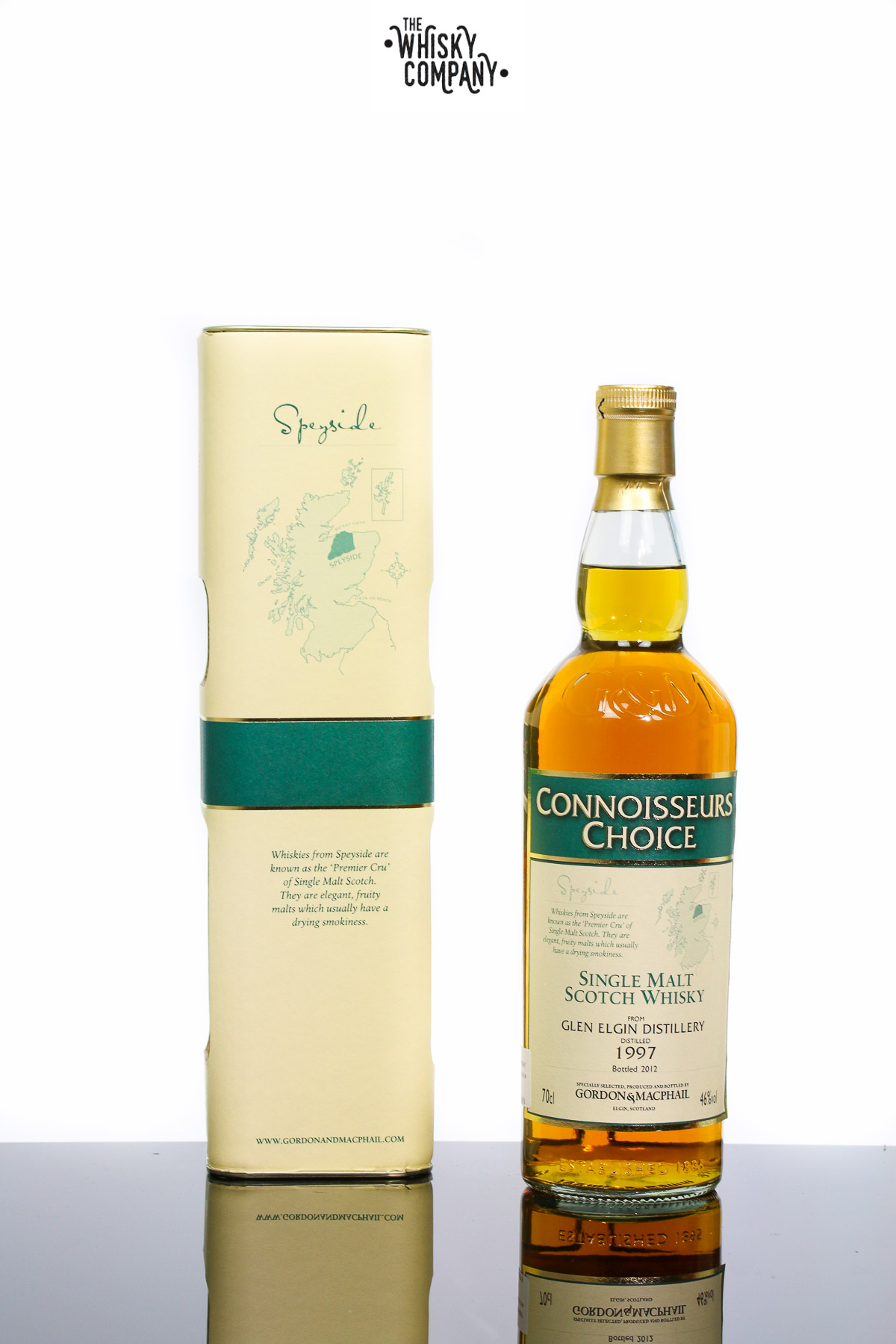 Gordon & MacPhail 1997 Glen Elgin Speyside Single Malt Scotch Whisky
