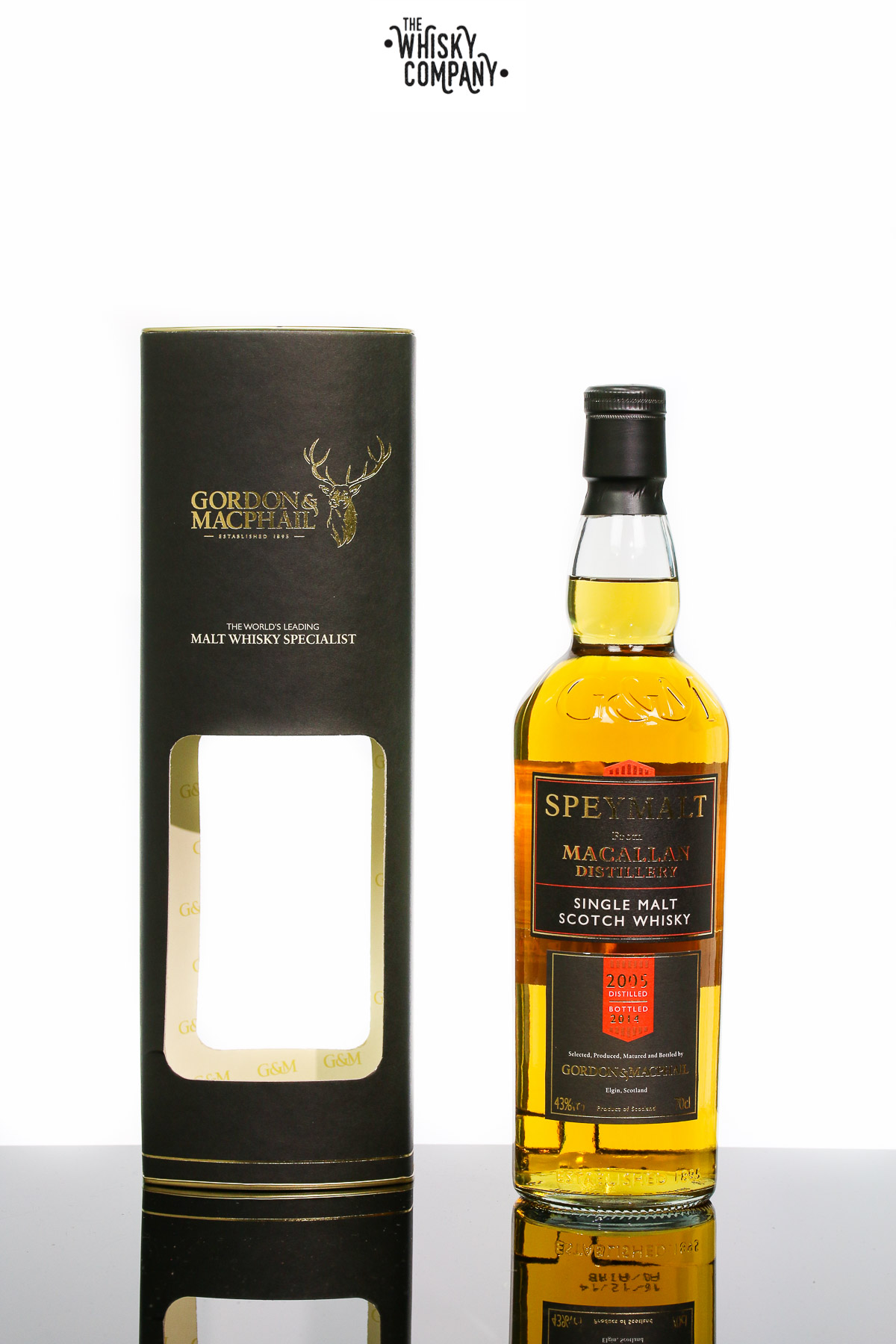 Gordon & MacPhail Macallan 2005 Speyside Single Malt Scotch Whisky