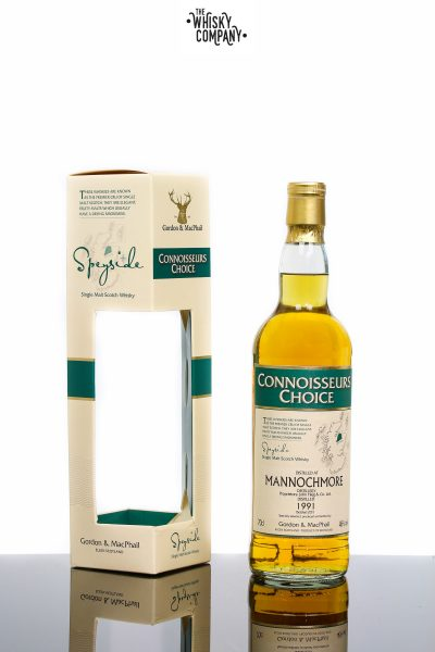 Gordon & MacPhail 1991 Mannochmore Speyside Single Malt Scotch W