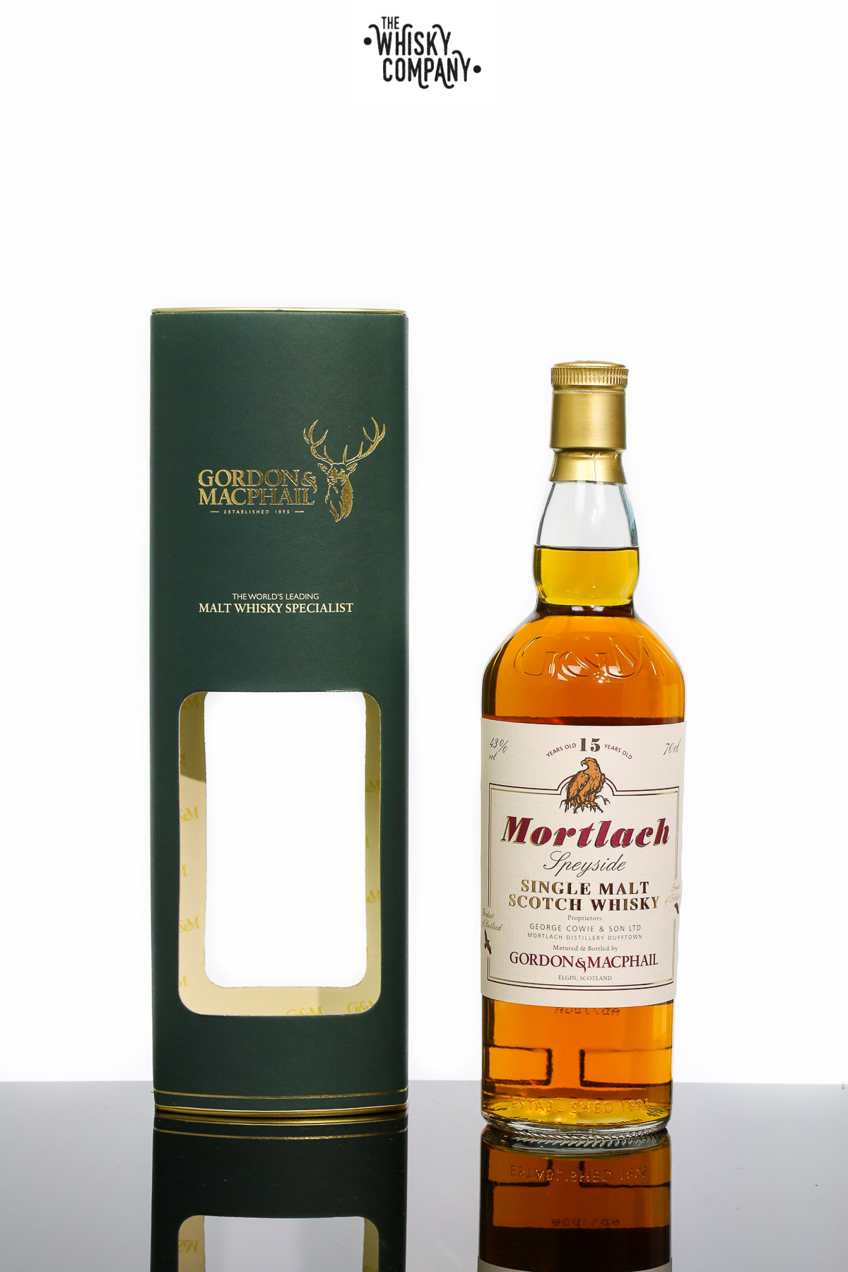 Gordon & MacPhail Mortlach 15 Years Old Speyside Single Malt Scotch Whisky (700ml)