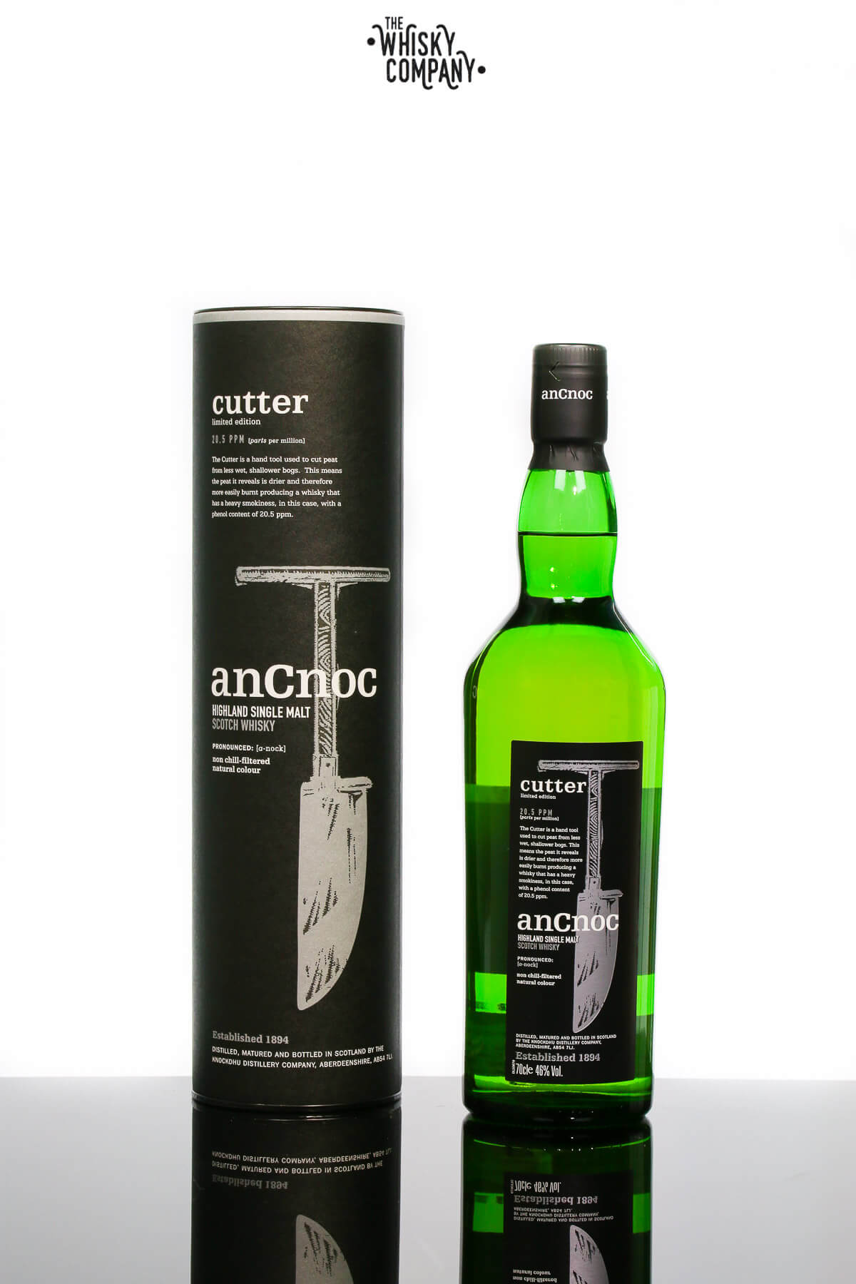 anCnoc Limited Edition Cutter Speyside Single Malt Scotch Whisky