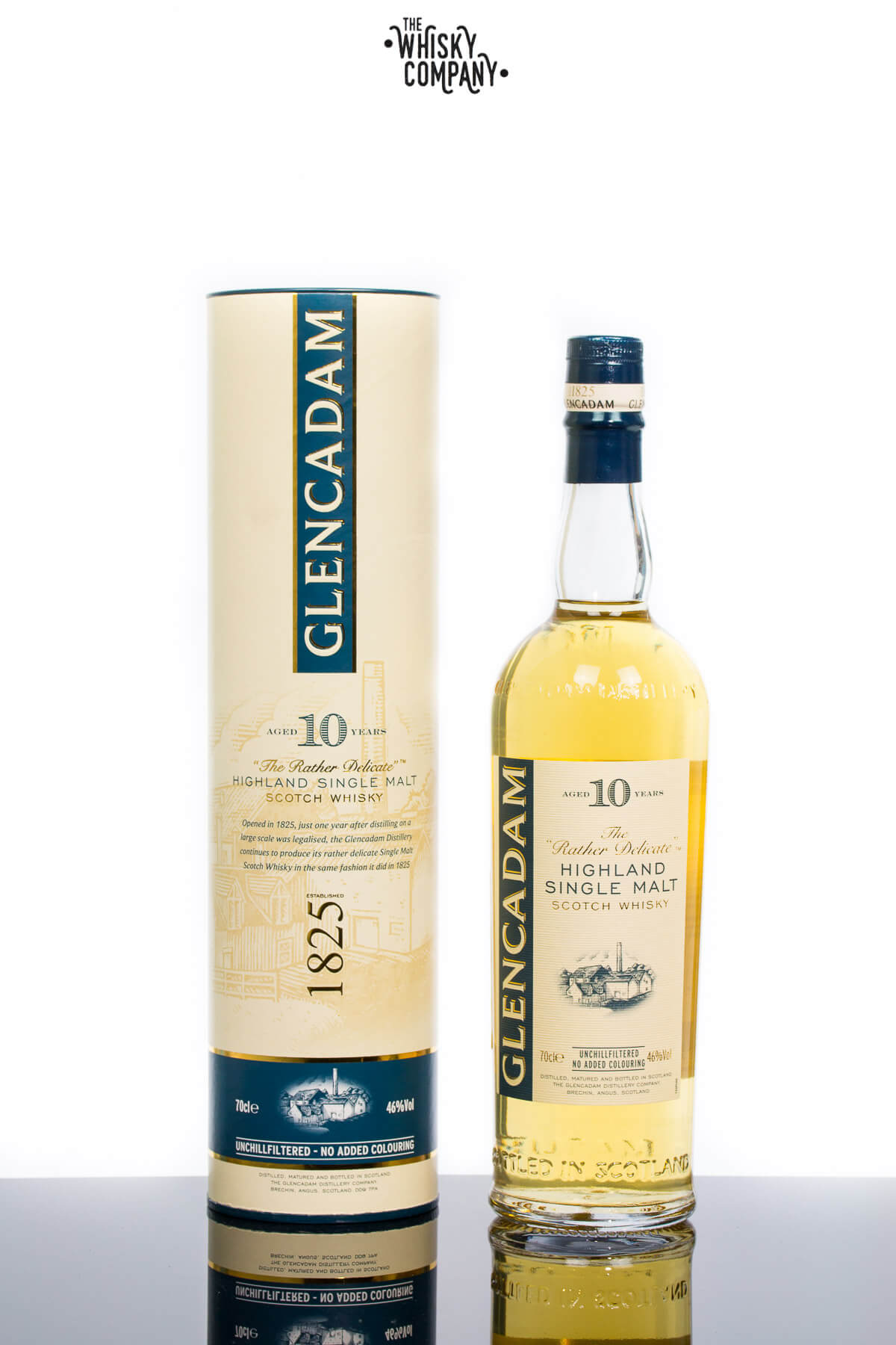 Glencadam Aged 10 Years Highland Single Malt Scotch Whisky (700ml)