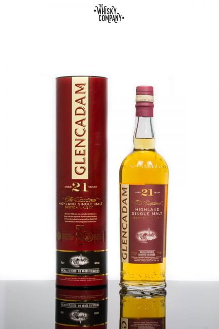 Glencadam Aged 21 Years Highland Single Malt Scotch Whisky (700ml)