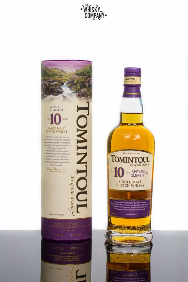 Tomintoul Aged 10 Years Speyside Single Malt Scotch Whisky (700ml)