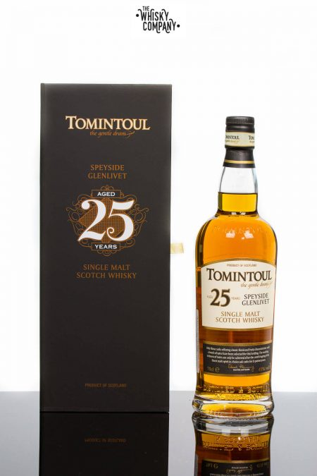 Tomintoul Aged 25 Years Speyside Single Malt Scotch Whisky (700ml)