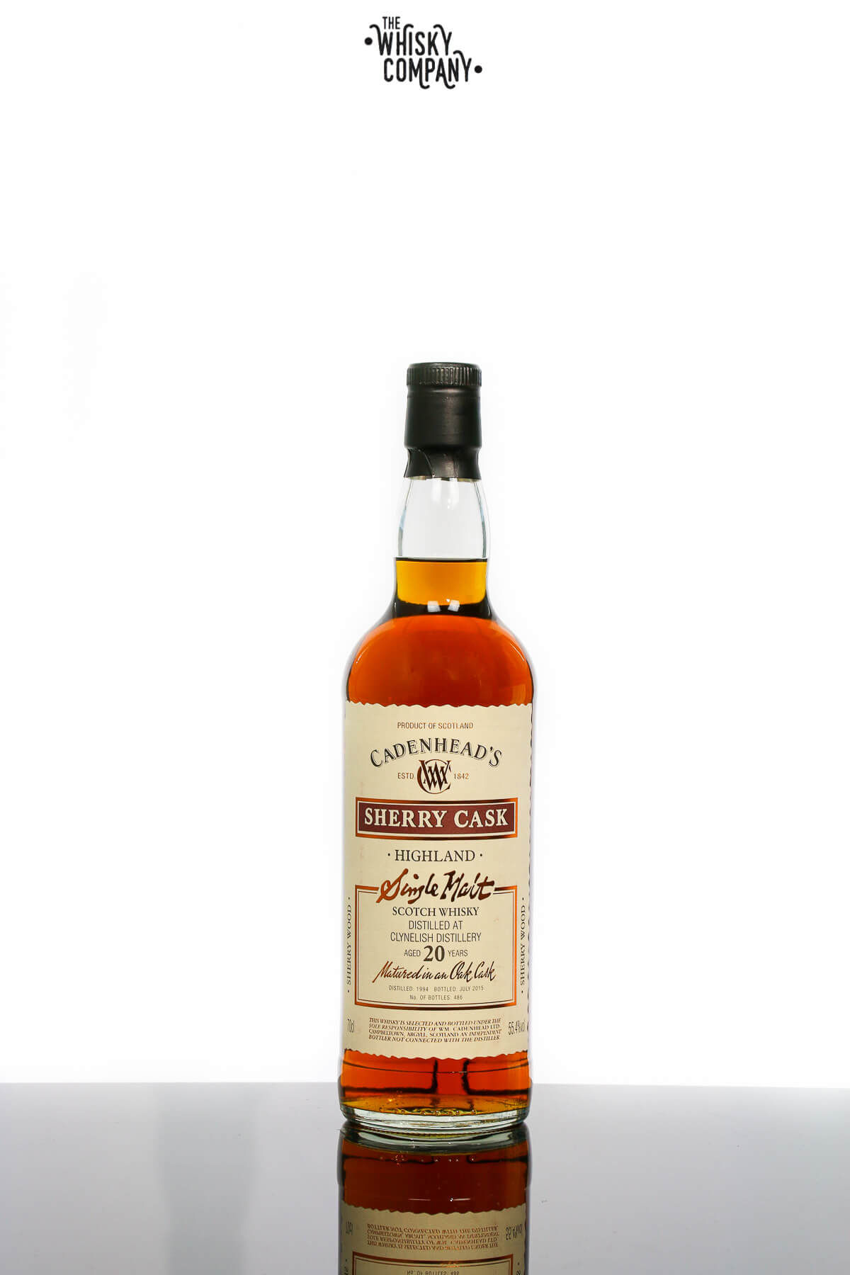 Clynelish 1994 Aged 20 Years Old Single Malt Scotch Whisky - Cadenhead's (700ml)