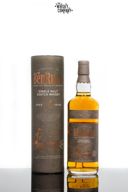 BenRiach Aged 10 Years Speyside Single Malt Scotch Whisky (700ml)