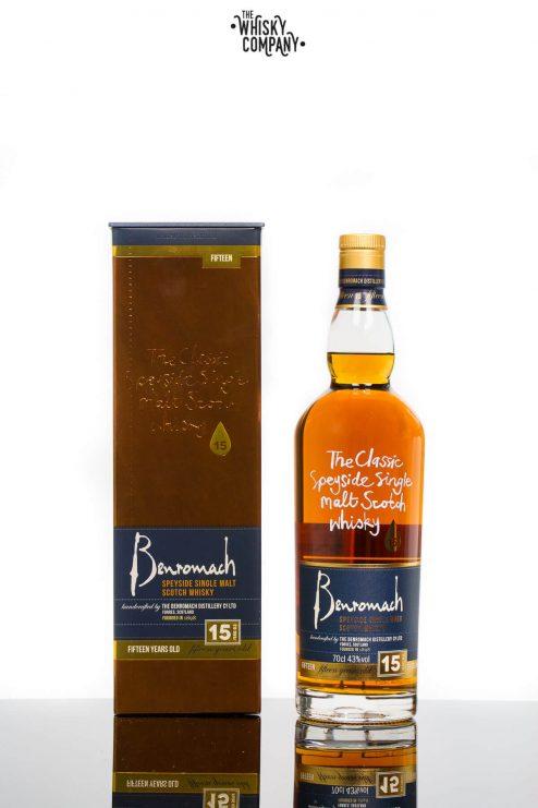 Benromach 15 Years Old Speyside Single Malt Scotch Whisky (700ml)