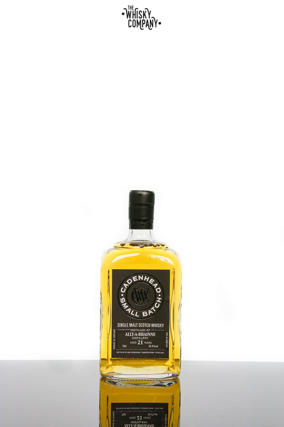 Cadenheads Allt-A-Bhainne Aged 21 Years Single Malt Scotch Whisky