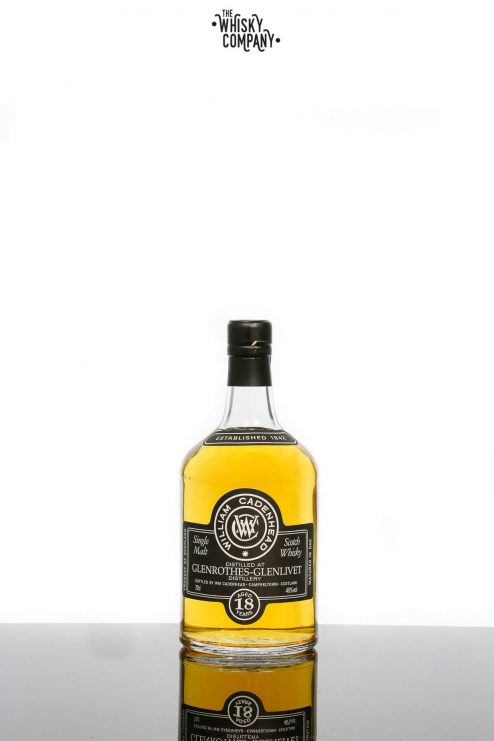Cadenheads Glenrothes-Glenlivet Aged 18 Years Single Malt Scotch Whisky