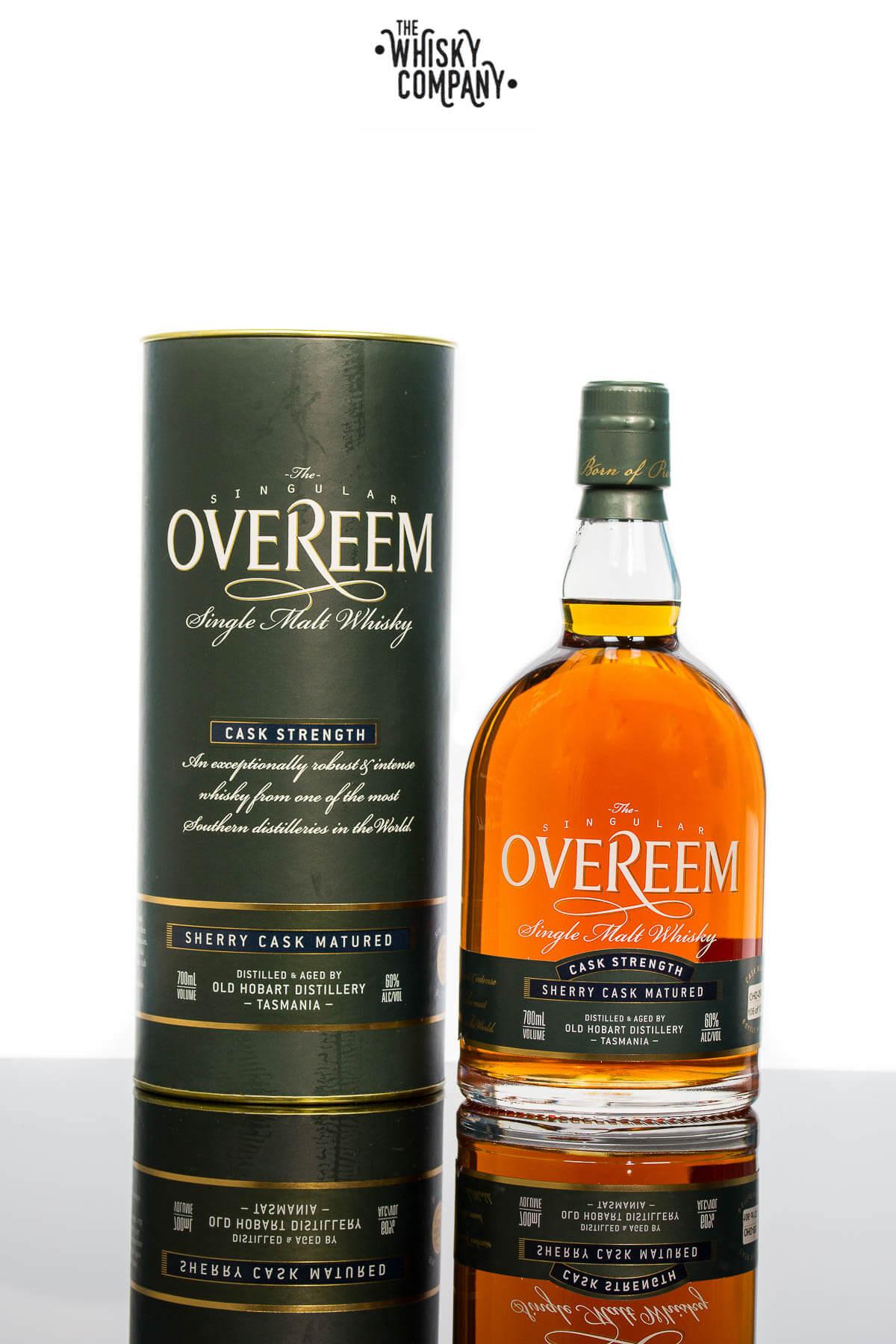Overeem Cask Strength Sherry Cask Matured Tasmanian Single Malt Whisky (700ml)