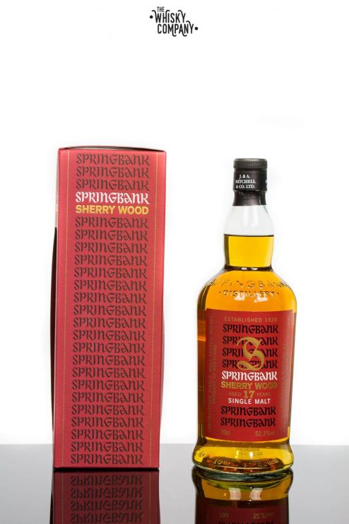 Springbank Aged 17 Years Sherry Wood Campbeltown Single Malt Scotch Whisky (700ml)